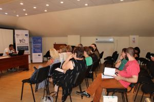 promotion meeting in Kutaisi