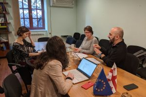 Meeting with the Social Work Union Representative