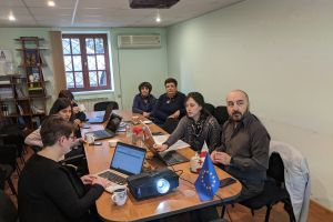 Meeting of Project Management Team